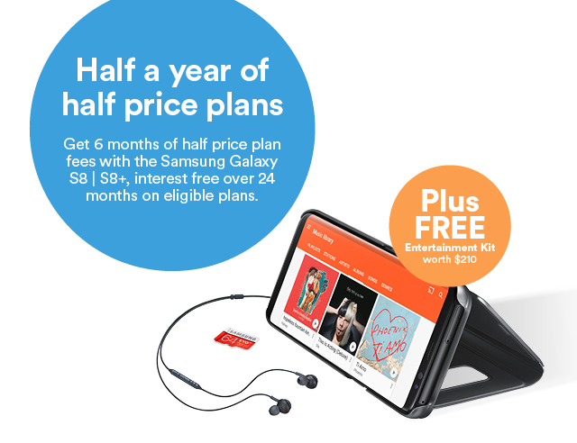 Half a year of half price plans