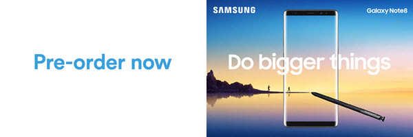 Pre-order now. Samsung | Do bigger things
